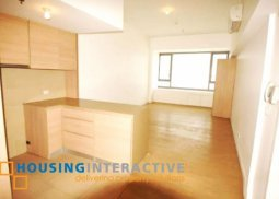 UNFURNISHED STUDIO UNIT FOR LEASE IN ONE SHANGRI-LA PLACE MANDALUYONG