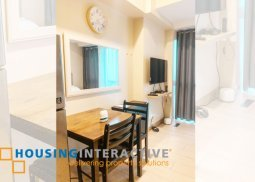 FULLY FURNISHED STUDIO UNIT FOR RENT/SALE IN ONE EASTWOOD AVE QUEZON CITY