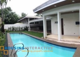 UNFURNISHED 5BR HOUSE AND LOT FOR RENT IN DASMARINAS VILLAGE MAKATI