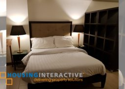 FULLY FURNISED STUDIO UNIT FOR SALE OR RENT IN VENICE LUXURY RESIDENCES