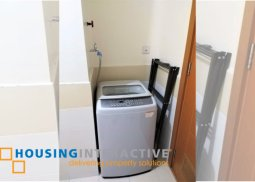 FULLY FURNISHED 1-BEDROOM UNIT FOR SALE IN TRION TOWER