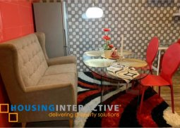FULLY FURNISHED 1-BEDROOM UNIT FOR SALE IN BELLAGIO THREE