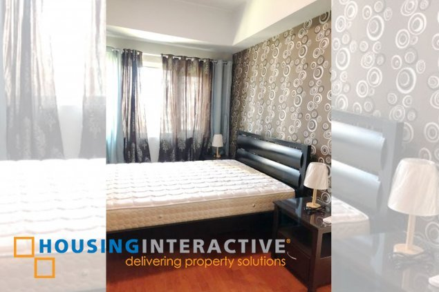 Fully Furnished 1BR Unit for rent at Forbeswood Parklane