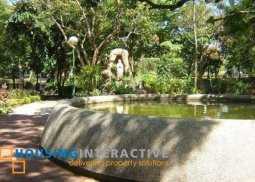 SPACIOUS LOT FOR SALE IN AYALA ALABANG VILLAGE