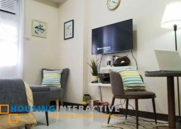 FULLY FURNISHED STUDIO UNIT FOR RENT IN NEWPORT CITY