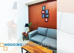 FULLY FURNISHED 1-BEDROOM UNIT FOR RENT IN JAZZ RESIDENCES