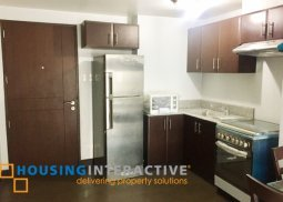 FULLY FURNISHED 1BR UNIT FOR RENT/SALE IN MANHATTAN PARKWAY RESIDENCES QUEZON CITY