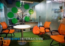 Fully fitted office space for lease in Makati