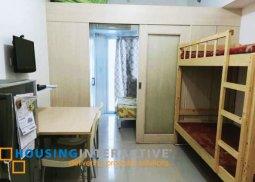 FULLY FURNISHED 1-BEDROOM UNIT FOR SALE IN SMDC LIGHT RESIDENCES