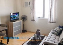 FULLY FURNISHED STUDIO UNIT FOR SALE IN AMAIA SKIES
