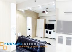 FULLY FURNISHED 1-BEDROOM FOR SALE IN BREEZE RESIDENCES
