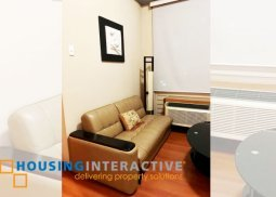 FULLY FURNISHED STUDIO UNIT FOR SALE IN EASTWOOD PARKVIEW