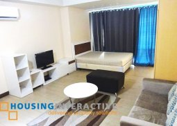 FULLY FURNISHED STUDIO UNIT FOR SALE IN TWO CENTRAL