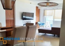 FULLY FURNISHED 2-BEDROOM UNIT FOR RENT IN SHELL RESIDENCES