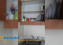 FULLY FURNISHED STUDIO UNIT IN MALAYAN PLAZA, PASIG FOR RENT