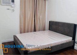 FULLY FURNISHED 1-BEDROOM UNIT FOR SALE IN THE SAPPHIRE BLOC