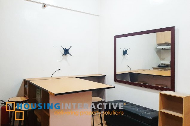 FULLY FURNISHED 1 BEDROOM UNIT FOR SALE AT MADISON PLACE