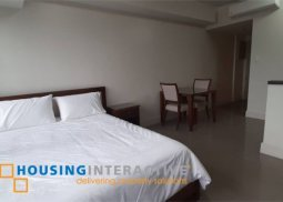 FULLY FURNISHED STUDIO UNIT FOR SALE/RENT IN PROSCENIUM