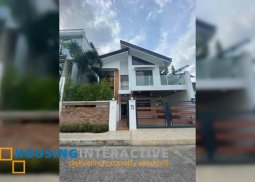 BARE 2-STOREY, 4-BEDROOM HOUSE WITH BALCONY FOR SALE IN GREENWOODS EXECUTIVE VILLAGE