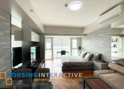 MODERN FULLY FURNISHED STUDIO UNIT FOR RENT IN THE MANANSALA