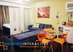 FULLY FURNISHED 1-BEDROOM UNIT FOR RENT IN F1 HOTEL