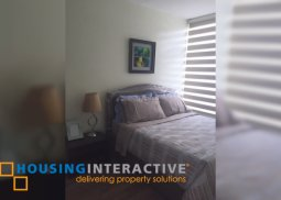 TIMELESS FULLY FURNISHED 1-BEDROOM UNIT FOR SALE IN ANTEL SERENITY SUITES