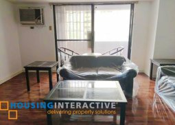 FULLY FURNISHED 2-BEDROOM UNIT WITH BALCONY FOR RENT IN COSMOPOLITAN TOWER