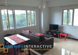FULLY FURNISHED 1-BEDROOM UNIT FOR RENT IN MORGAN SUITES