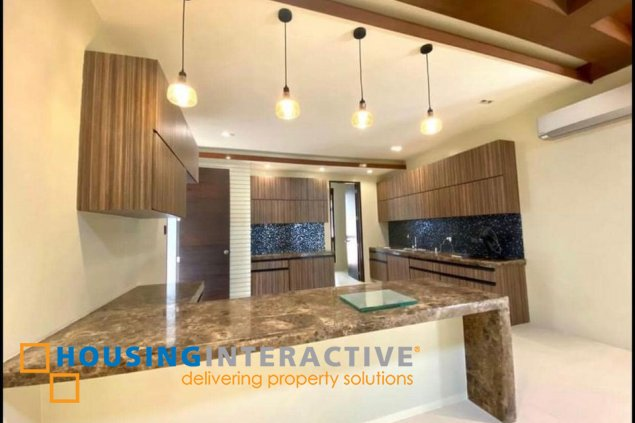 NEWLY RENOVATED 2-STOREY, 4-BEDROOM HOUSE WITH POOL FOR SALE IN AYALA ALABANG VILLAGE