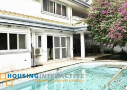4BR HOUSE AND LOT FOR SALE IN AYALA ALABANG