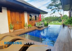 LUXURIOUS FULLY FURNISHED 3-BEDROOM BUNGALOW WITH POOL FOR SALE IN STA. ELENA GOLF AND COUNTRY ESTATE