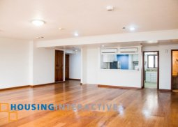 BARE & GRAND 3-BEDROOM UNIT FOR SALE IN PACIFIC PLAZA AYALA