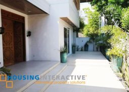 5BR HOUSE AND LOT FOR LEASE IN BEL AIR I VILLAGE MAKATI