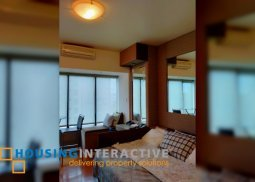 FULLY FURNISHED STUDIO UNIT FOR RENT AT ONE ROCKWELL