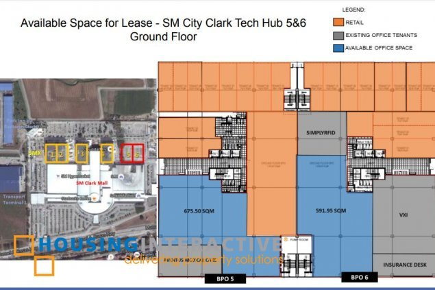 Office space for lease in Pampanga