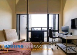 FULLY FURNISHED 2-BEDROOM PENTHOUSE WITH BALCONY FOR RENT IN THE GRAMERCY RESIDENCES