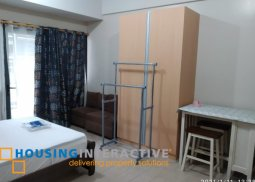 COZY FULLY FURNISHED STUDIO UNIT WITH BALCONY FOR RENT IN SALCEDO SKYSUITES