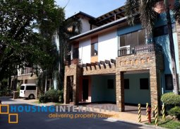 5BR TOWNHOUSE FOR RENT/SALE IN ENCLAVE GREENMEADOWS QUEZON CITY