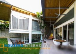 TIMELESS SEMI-FURNISHED 2-STOREY, 6-BEDROOM HOUSE WITH POOL FOR RENT IN URDANETA VILLAGE
