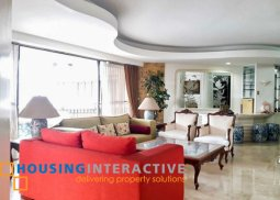FULLY FURNISHED 3-BEDROOM UNIT WITH BALCONY FOR RENT IN RITZ TOWER
