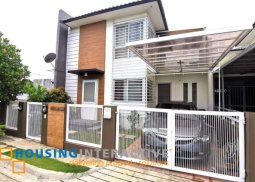 FULLY FURNISHED 2-STOREY, 3-BEDROOM HOUSE FOR SALE IN ADELE RESIDENCE