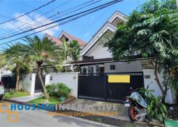 SEMI FURNISHED 4 BEDROOM HOUSE AND LOT FOR RENT AT SAN LORENZO VILLAGE