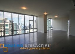 SEMI FURNISHED 4 BEDROOM UNIT FOR RENT AT PROSCENIUM AT ROCKWELL