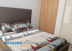 FULLY FURNISHED 1BR UNIT FOR LEASE IN COMMONWEALTH RESIDENCES QUEZON CITY