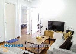 TIMELESS SEMI-FURNISHED 2-BEDROOM UNIT WITH BALCONY FOR RENT IN GRAND SOHO