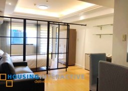 FULLY FURNISHED STUDIO UNIT FOR LEASE IN GREENBELT RADISSONS