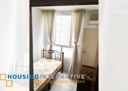 FULLY FURNISHED 1 BEDROOM UNIT FOR SALE AT MEZZA RESIDENCES