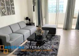 FULLY FURNISHED 2-BEDROOM UNIT WITH BALCONY FOR RENT IN MONDRIAN RESIDENCES
