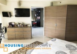 SEMI-FURNISHED 2-BEDROOM UNIT WITH BALCONY FOR SALE IN RITZ TOWER