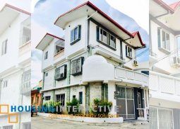 MODERN FULLY FURNISHED 3-STOREY, 3-BEDROOM STAFF HOUSE FOR RENT IN CAMELLA HOMES